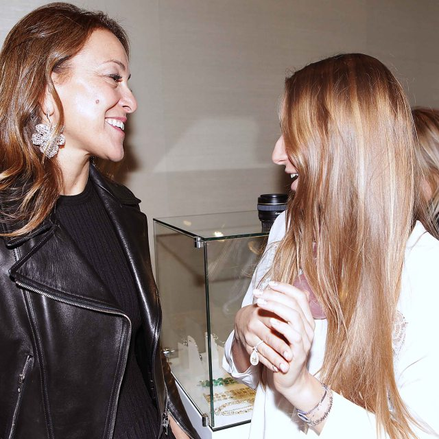 With Nina Runsdorf