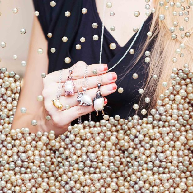 Unconventional Pearl Jewellery