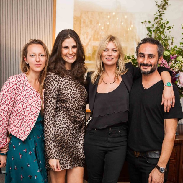 Kate Moss Liza Urla gemologue